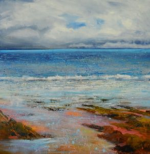 Large Seascape by Sue Read