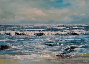 Northcott Mouth painting seascape