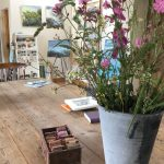 Sue Read Art Barn Studio, Bude Cornwall