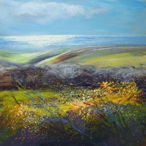North Cornwall painting by Sue Read