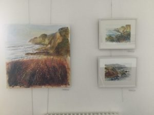 northcott mouth painting and sketches