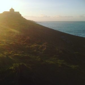 Dusk on the Island at St Ives