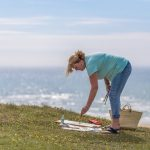 painting on the cornish coast