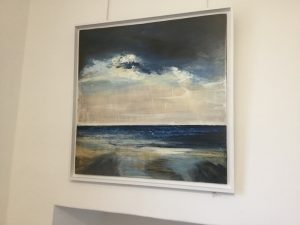 Cornish seascape on aluminium