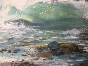 detail of seascape