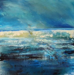joan eardley inspired, Cornwall waves, cornwall, seascape , light on the sea
