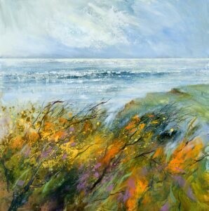 coastal painting of North Cornwall, Art Cornwall, Cornish artist, coastal art